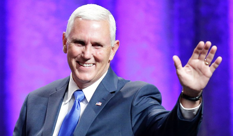 Mike Pence Purple